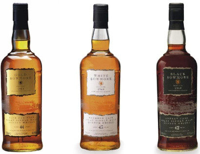 The 1964 Bowmore Trilogy