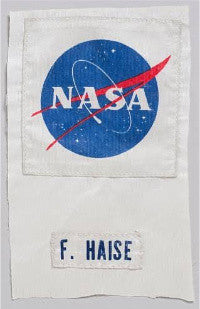 Fred Haise's space suit patch