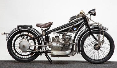 The 1924 BMW 493cc R32 - the