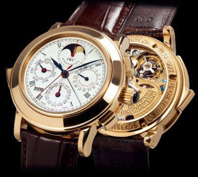IWC pink gold Grand Complication