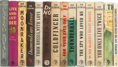Ian Fleming James Bond Complete first Edition Set