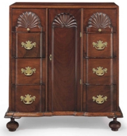 Important Chippendale Carved Mahogany Diminutive
