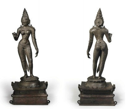 Parvati Indian Chola Period Statue Sculpture