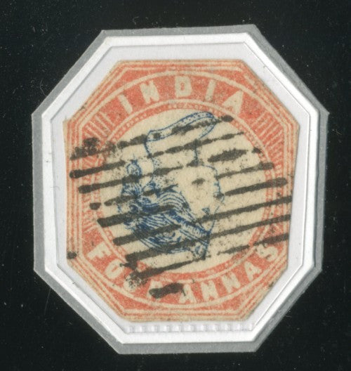 Indian 4a invert stamp