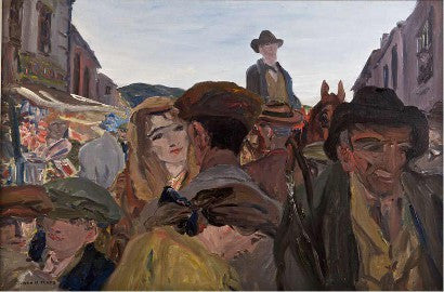Irish art Jack B Yeats A Fair Day Mayo