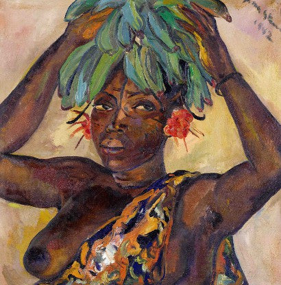 Irma Stern Mangbetu Woman Carrying Fruit