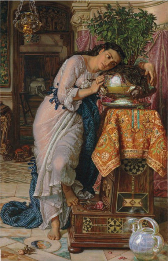 Isabella Pot Basil William Holman Hunt