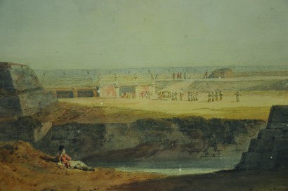 JMW Turner watercolour Jodhpur auction
