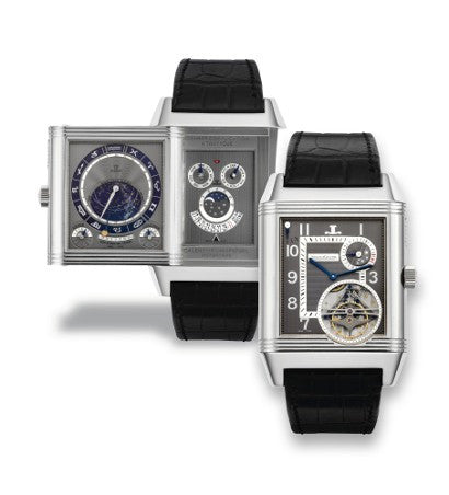 Jaeger LeCoultre White Gold Reverso Triptyque Grand Complication watch
