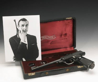 James Bond Gun Sotheby's Auction