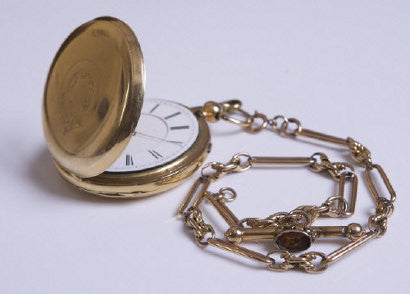 James Joyce Ulysses gold pocket watch John O'Connell chain