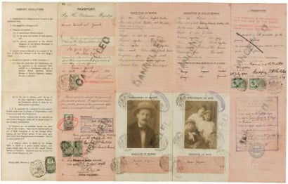 James Joyce wartime record