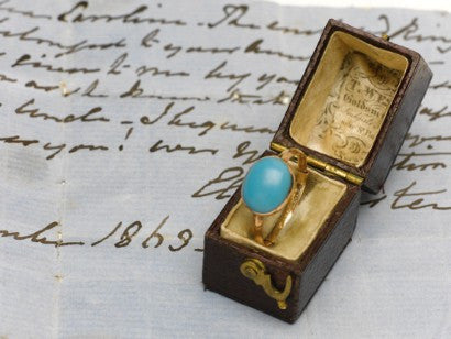 Jane Austen gold ring sotheby's auction