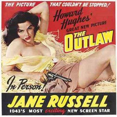 Jane Russell The Outlaw Movie Poster