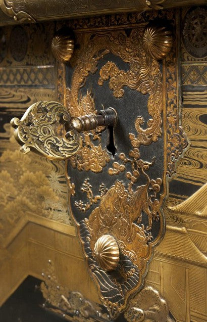 Japanese chest V&A treasure auction