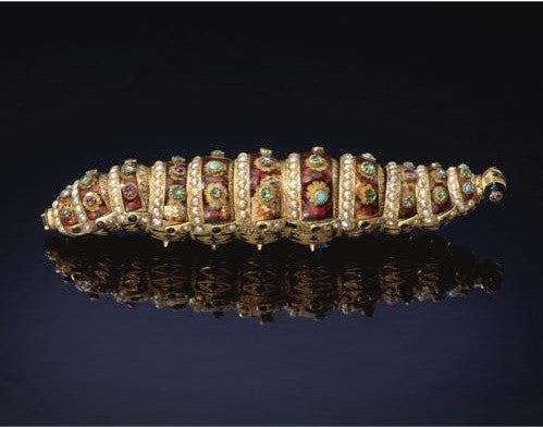 Jewelled Ethiopean caterpillar