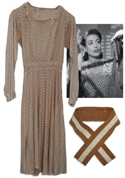 Joan Crawford Mildred Pierce dress