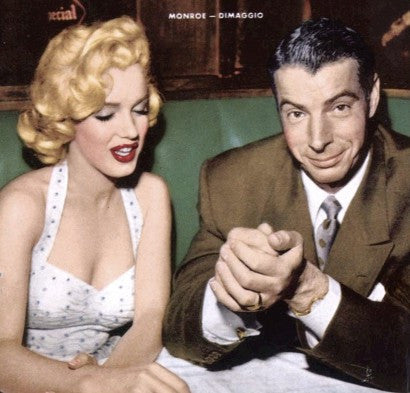 DiMaggio and Monroe on honeymoon in Tokyo, 1953