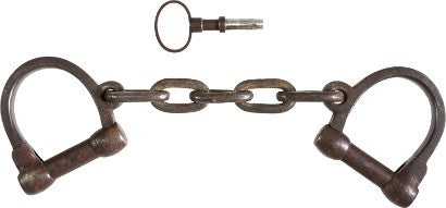 John Brown leg irons