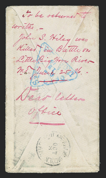 John Hiley cover back battle Little Bighorn Custer