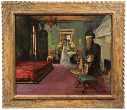 Sir John Lavery Mrs Rosen's Bedroom