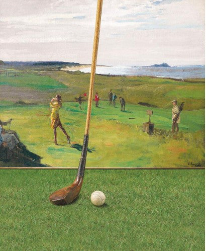 John Lavery The Golf Course painting