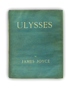 Ulysses first edition by James Joyce