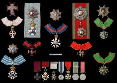 Kars VC Victoria Cross medal collection