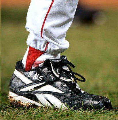 Curt Schilling's bloody sock to auction at Heritage in February