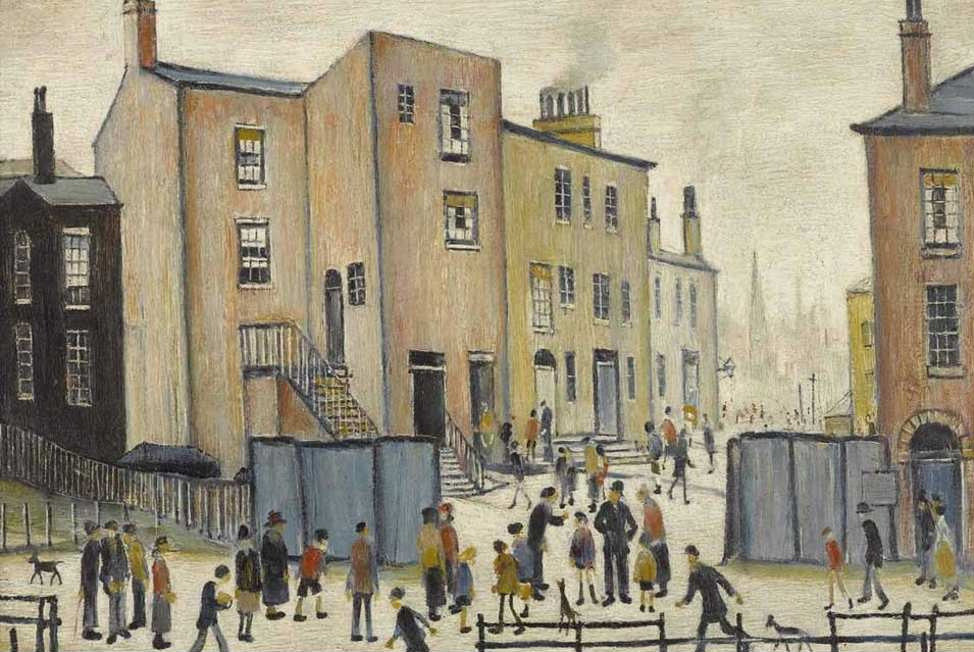 L S Lowry Old Houses