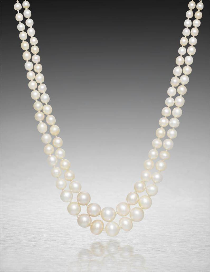 Lady Houston pearl necklace