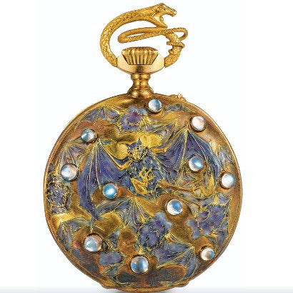 Rene Lalique Pocket Watch auction reocrd