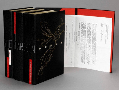 Larsson Celebrated Millennium Trilogy unique box set
