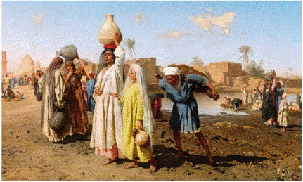 Leopold Carl Muller's Egyptian water-carriers