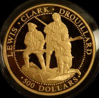 Lewis and Clark gold coin