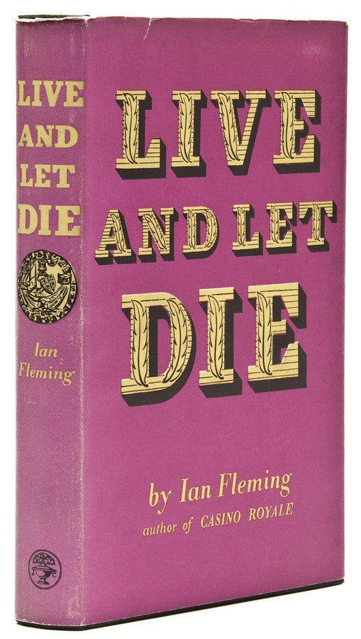 Live and Let Die James Bond first edition