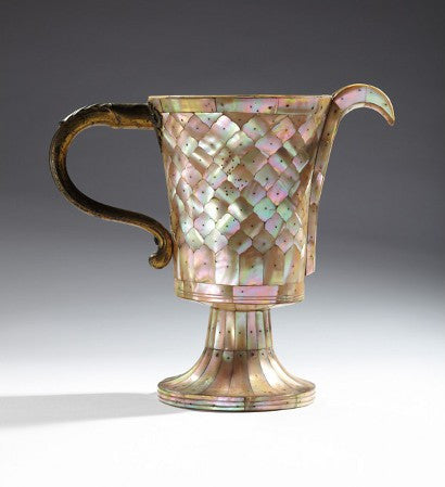 Lord Curzon Mother of Pearl ewer