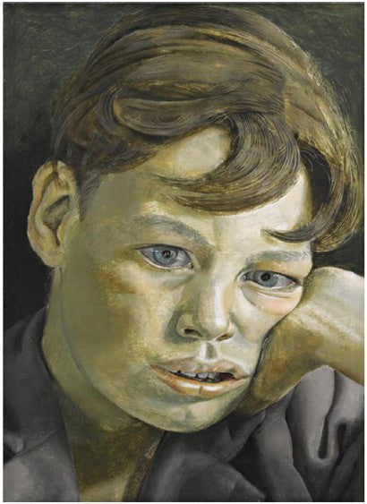 Lucian Freud Boys Head contemporary art