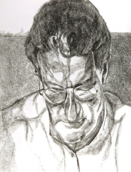 Lucian Freud Painter's Doctor