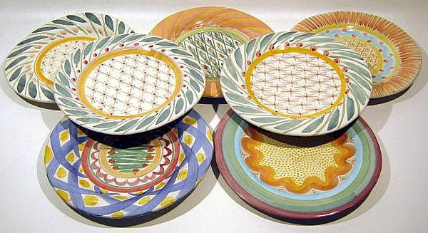MacKenzie-Childs pottery