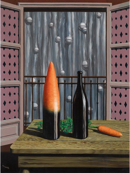 Magritte carrot bottle