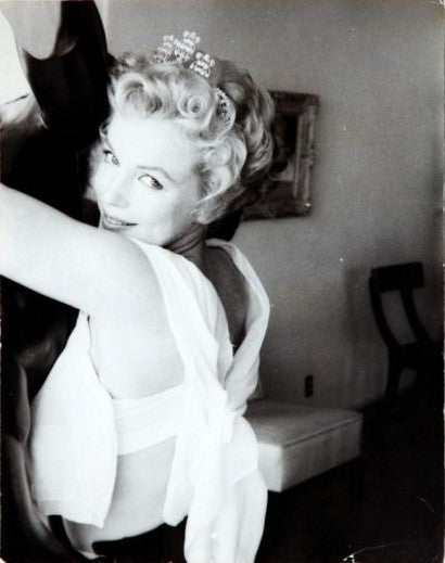 Marilyn Monroe Prince and the Showgirl photograph