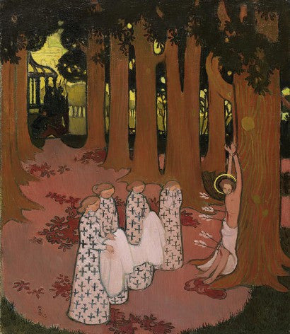 Maurice Denis canvas auctions with an impressive 658% increase on its estimate