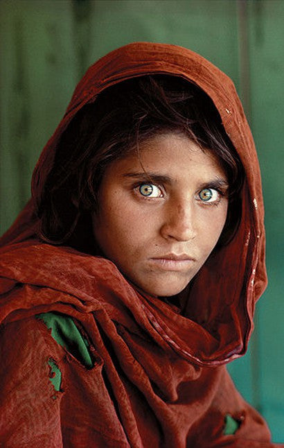 McCurry Sharbat Gula Afghan Girl