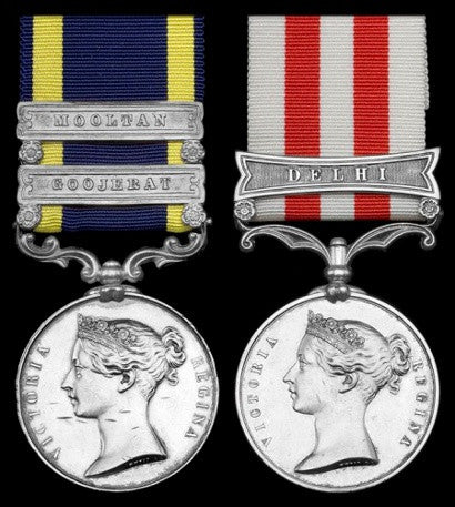 Medals Home Indian mutiny lost VC