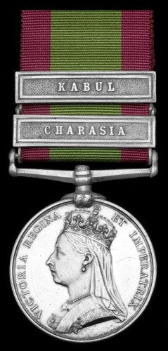 Captain Spens Afghan War Medal