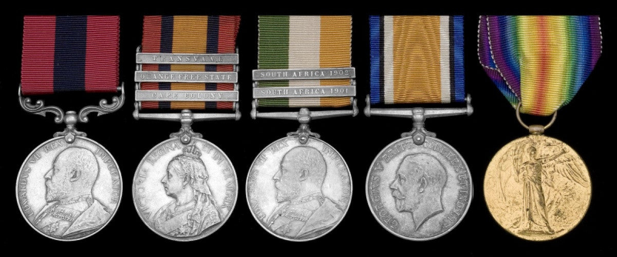 The Distinguished Conduct Medal of Winston Churchill's saviour
