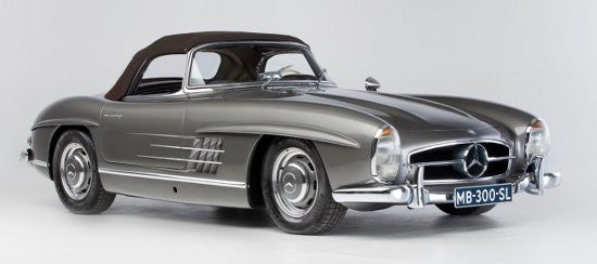 Mercedes 300sl Becomes First Classic Car Auctioned In Hong Kong