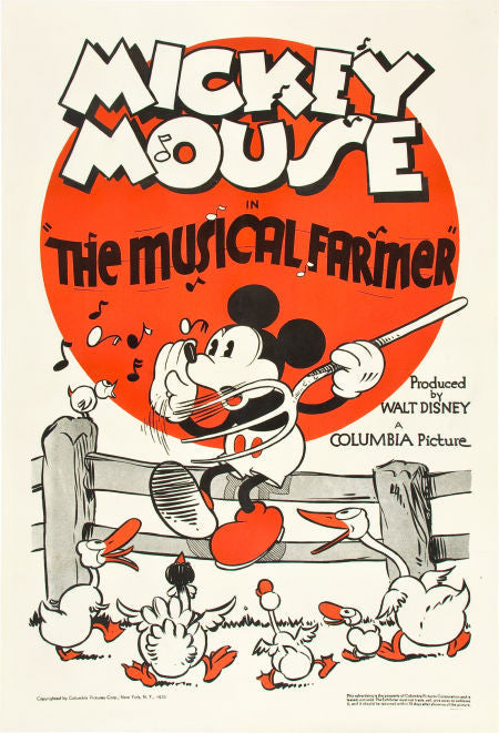 Disney Mickey Mouse The Musical Farmer