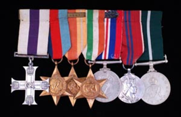 Military Cross and other collectible medals